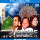 Best Of Islamic Qawwalies (3 Khans)  CD