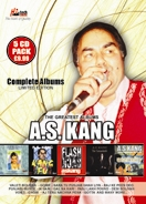 The Greatest Albums A.S. Kang (5CD PACK)