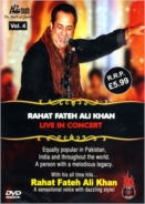 Rahat Fateh Ali Khan Live In Concert DVD