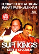 Sufi Kings - Geet & Ghazals (4 CD Set)
