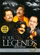 FOLK LEGENDS 3 (4 CD Set)