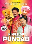 KINGS OF PUNJAB - TOP 50 HITS (4 CD Set)